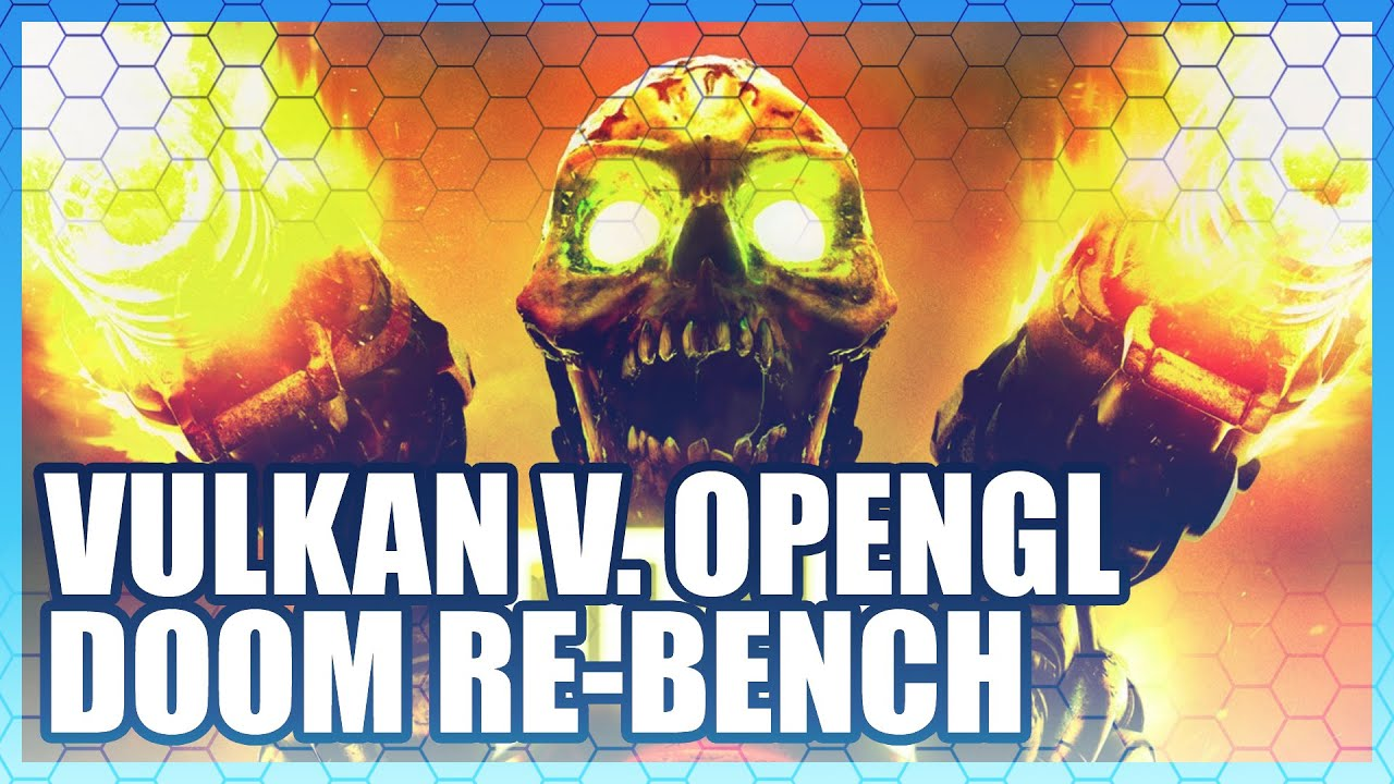 DOOM Vulkan vs  OpenGL Benchmark - RX 480, GTX 1080