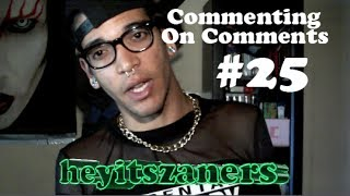 #25 Commenting on Comments: f(x) reaction? Zaners lingo?  | heyitszaners
