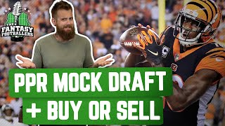 Fantasy Football 2020 - PPR Mock Draft + Buy or Sell, PlayerPagers™ - Ep. #913