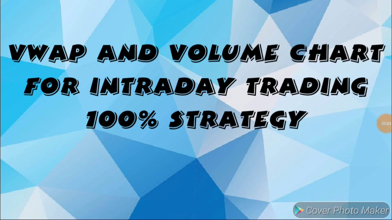 VWAP INDICATOR FOR INTRADAY TRADING 100% ACCURACY