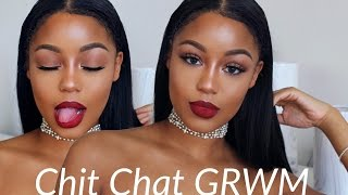 CHIT CHAT: GRWM | feeling worthless, HIV awareness! refocusing thumbnail