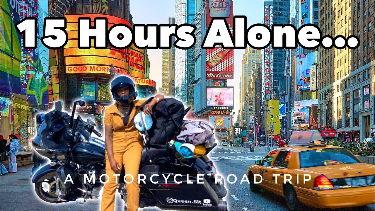 Riding My Road Glide To New York City ALONE! - Harley-Davidson Motovlog (Part 4)