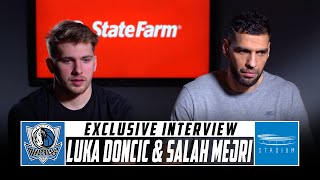 Shams Charania Sits Down With Luka Doncic and Salah Mejri of the Dallas Mavericks | Stadium