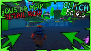 ALLER THE MAP OF RETAIL ROW ON FORTNITE! [GLITCH] [XBOX,PS4]