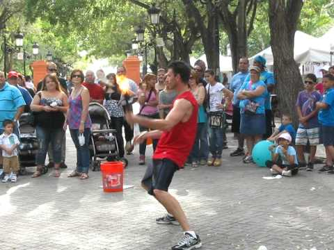 April 2011 Royal Caribbean Cruise - Fire Juggling at San Juan.AVI from YouTube · Duration:  21 seconds