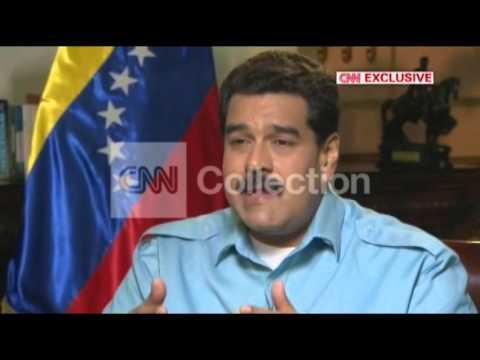 CNN EXCLUSIVE:AMANPOUR VENEZUELA MADURO CAPITALISM