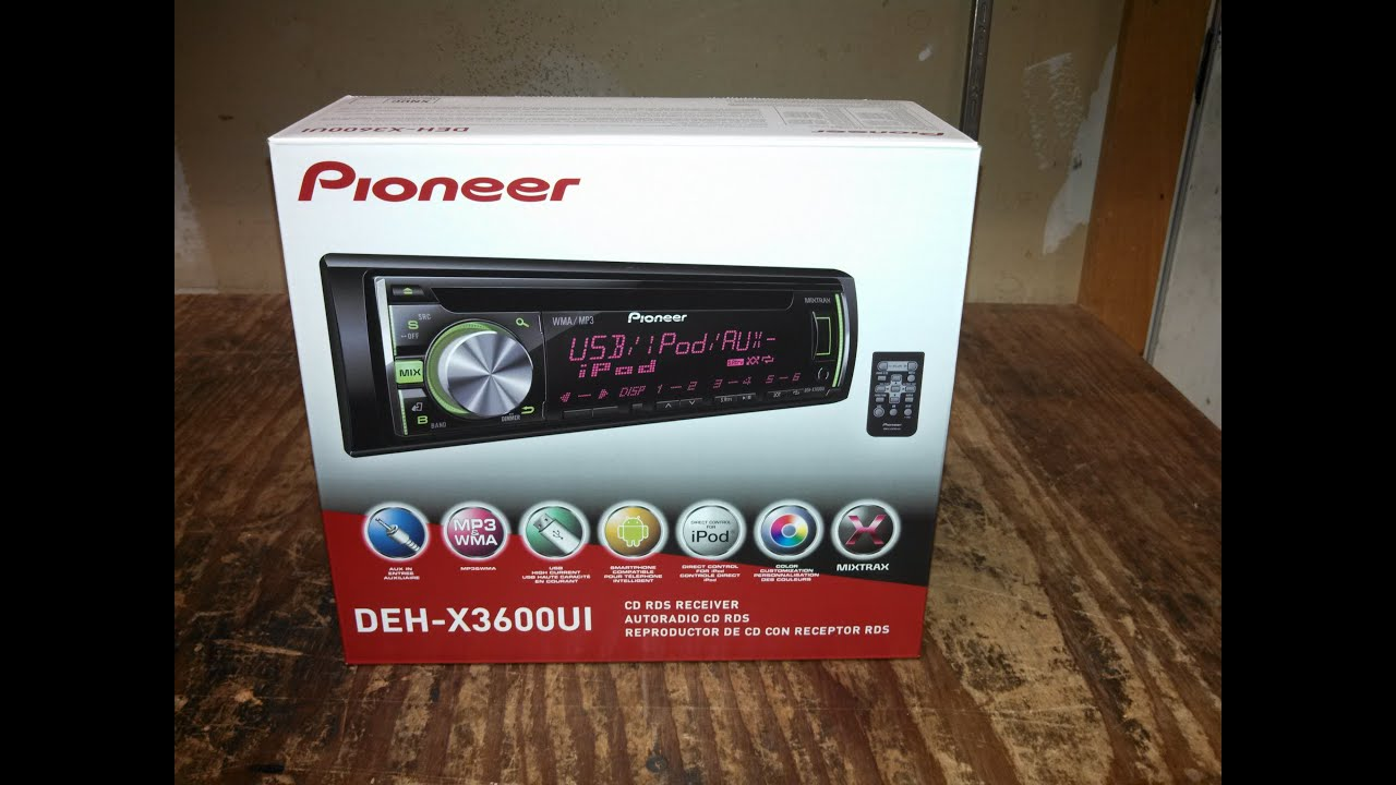 Pioneer Deh X3600ui Wiring Diagram Opinions About P3000 Review And Unboxing Youtube Rh Com Harness Color Code