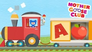 Alphabet Train Food Train - Mother Goose Club Rhymes for Kids thumbnail