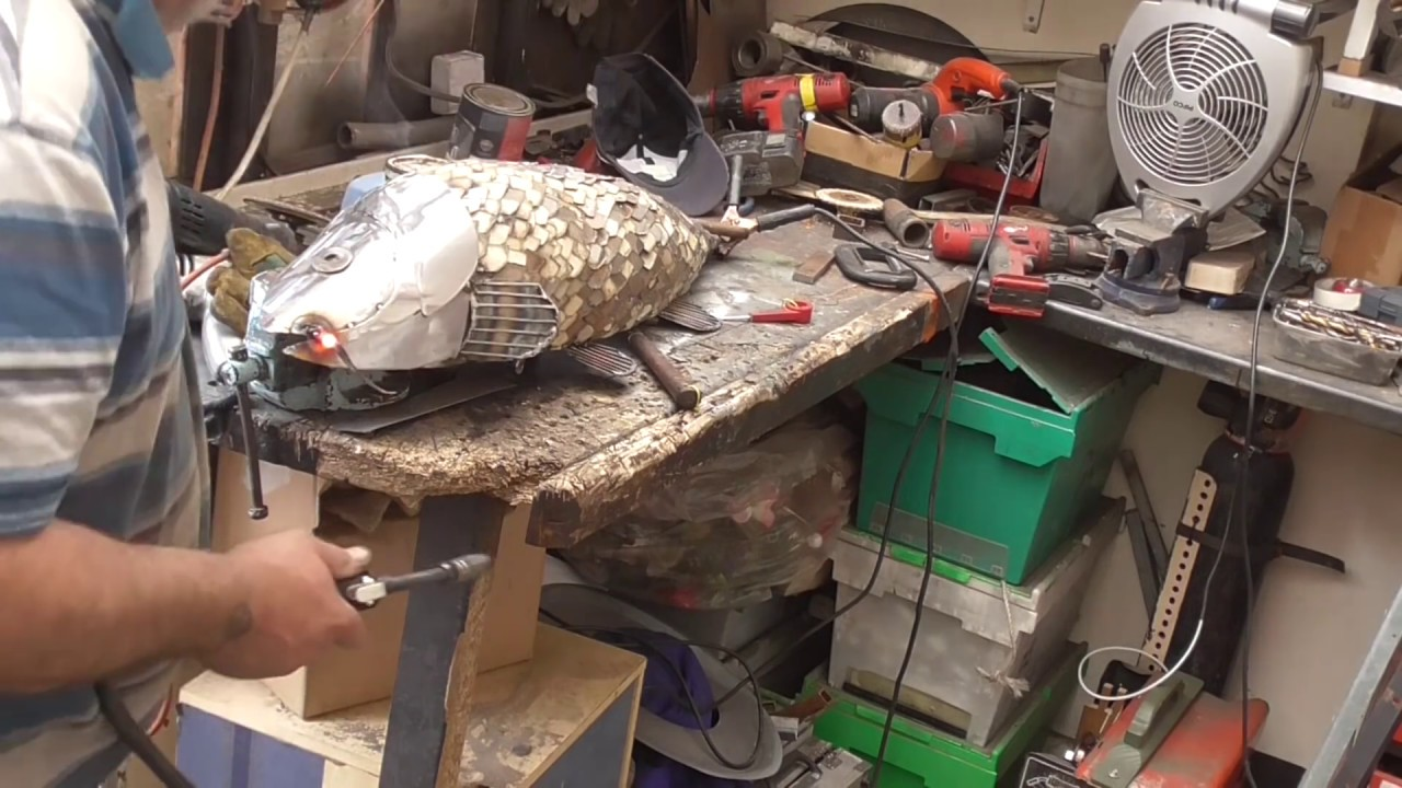 How I Finished The Fish That Didn T Get Away Metal Art