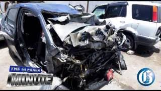 THE GLEANER MINUTE: Cop among four killed in crash....PNP election...T&T PM ends visit