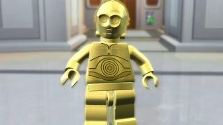 LEGO Star Wars: The Complete Saga Walkthrough Part 25 - Betrayal Over Bespin (Episode V)