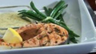 Salmon With Mustard Dill Sauce