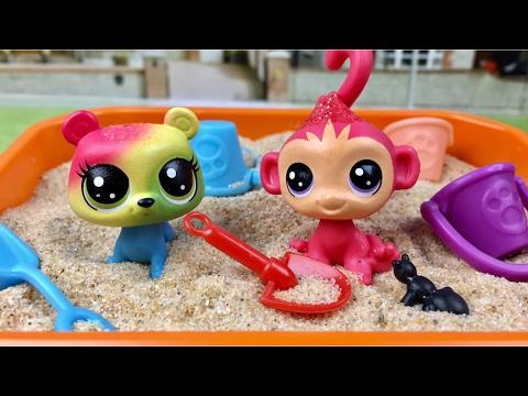 Minişler Anaokulunda 2.Bölüm || Minişler Cupcake Tv LPS Littlest Pet Shop
