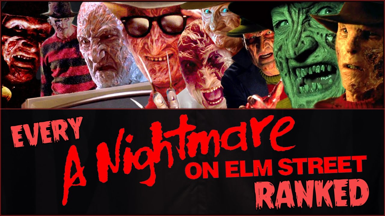 Download Every A NIGHTMARE ON ELM STREET Movie RANKED!