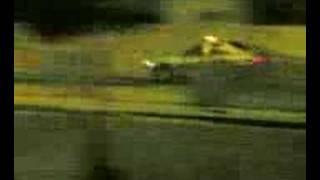 Speed bump in Dubai + flying Gallardo