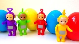 Repeat youtube video Teletubbies and surprise eggs