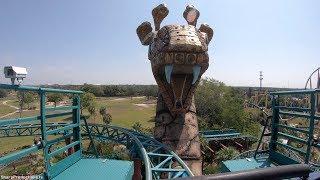 Cobra's Curse (4K On-Ride) Busch Gardens Tampa