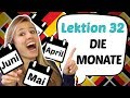 GERMAN LESSON 26: We learn the MONTHS in German and sing!