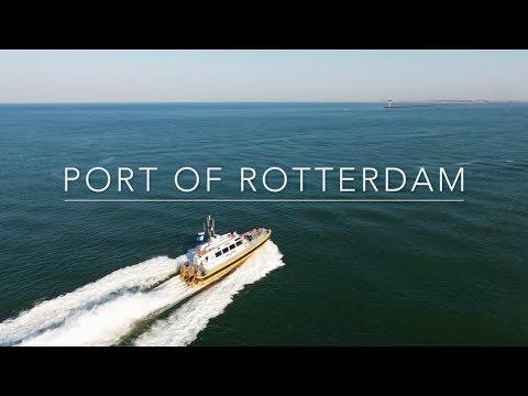 Port of Rotterdam Drone video