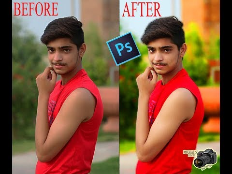 How to Edit a Photo in Adobe photoshop Cs6