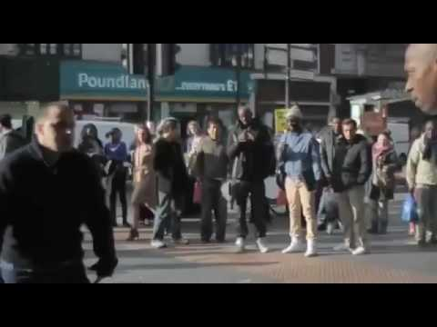 """FIGHT IN LONDON BRIXTON """"Your not in West now your in south... BRIXTON!"""""""