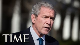 'Bigotry Seems Emboldened': George W. Bush Attacks Nationalism In Politics | TIME thumbnail