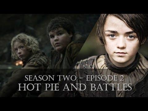 Hot Pie and Battles | Arya Stark | Game of Thrones (S02E02)
