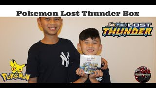 🎇 Pokemon Lost Thunder Booster Box (Unboxing)