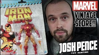 EPISODE 39 - TOY HUNTING FOR FRIENDS, MARVEL LEGENDS VINTAGE SERIES, FUNKO POPS AND MORE!