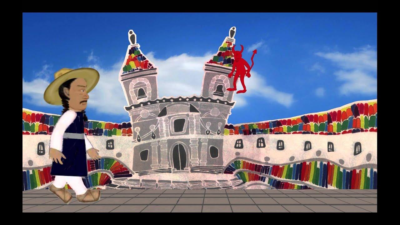La leyenda de Cantuña en Quito - YouTube