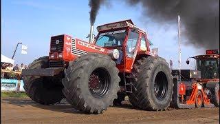 Tractorpulling Boerensport klasse   Trekkertrek Familiedag Dirksland 2019