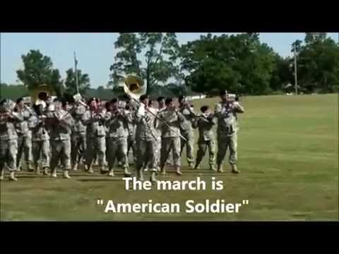101st Airborne Band Sound Off at Division Pass in Review Parade