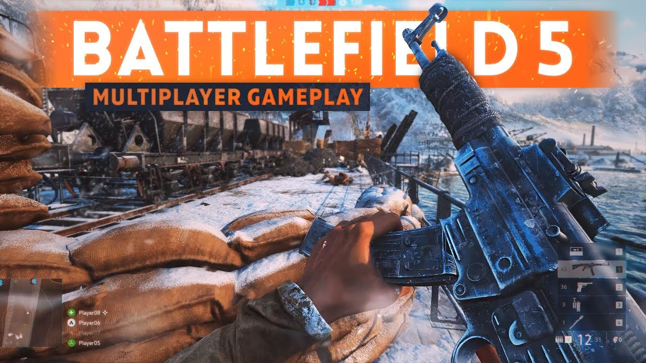 NEW BATTLEFIELD 5 MULTIPLAYER GAMEPLAY: 7 Details You Need To Know! (Gun Play & Battle Royale)