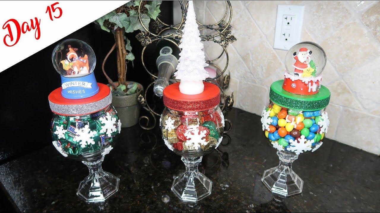 Diy Dollar Tree Whimsical Candy Jars Youtube