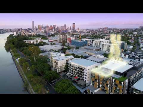 SOKO Sky Homes. Brisbane Riverfront Luxury Penthouses