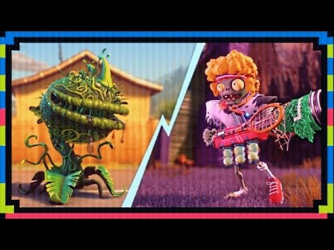 PvZ Garden Warfare 2: Serve and Volley Mystery Portal