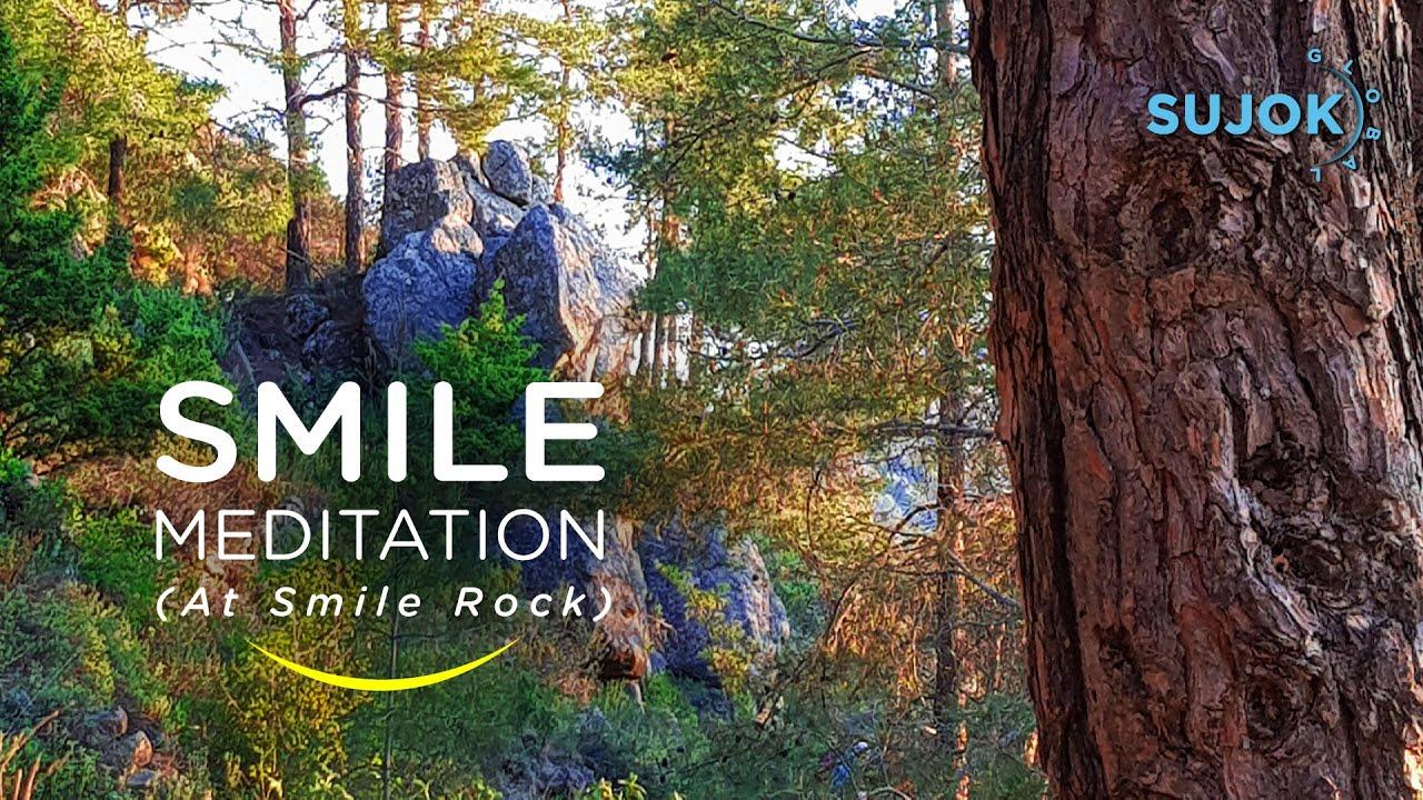 Smile meditation on Smile Rock🏞️😊 - YouTube