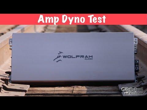 Wolfram Audio W-3000.1 3kW Amp Dyno Test