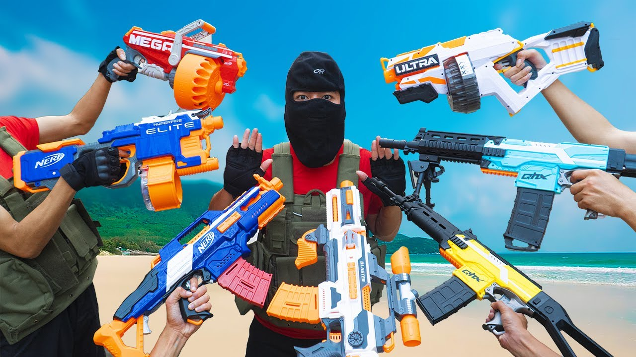 Battle Nerf War Competition Nerf Guns HOME ALONE BATTLE