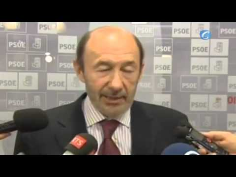 Rubalcaba critica a Rajoy ante la prensa extranjera