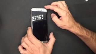 Instalação de Película de Vidro Temperado Samsung Galaxy  S7 Edge