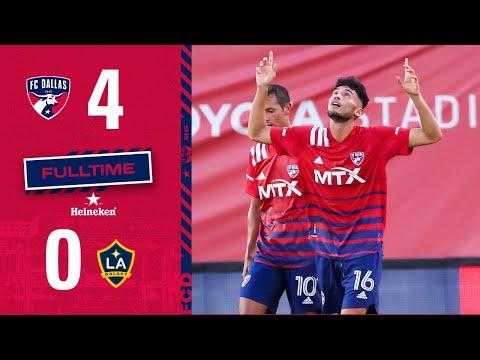 HIGHLIGHTS: FC Dallas 4, LA Galaxy 0 | July 24, 2021