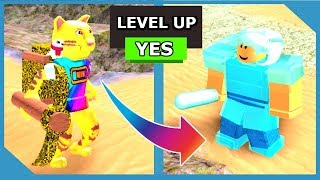 Hitting Level 5 and Unlocking New Items - Roblox Big Booga Dig