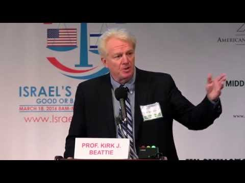 """""""How Congress shapes Middle East policy, and how AIPAC shapes Congress"""" Kirk Beattie"""