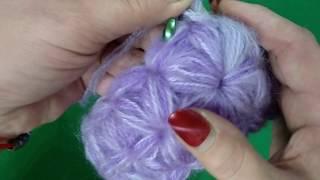 Узор Звездочка - Снуд - Повязка на голову МК / Crochet headband