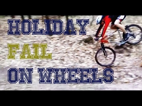 Download Youtube: Holiday fail on wheels | winter compilation 2016 [FailForceOne]
