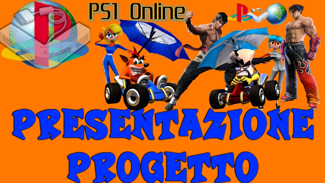 Ps1online multiplayer ps1 giocato online presentazione for Progetto online
