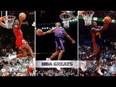 Top 10 NBA Slam Dunk Contest Dunks of ALL TIME - Michael Jordan, Vince Carter, Dwight Howard