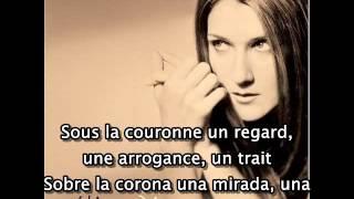 Céline Dion - On ne change pas - Con subtítulos en Francés y en Español
