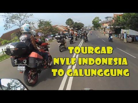 (New Vixion Lightning Family Indonesia) TOURGAB NVLF INDONESIA JABODETABEK-TASIK to Galunggung